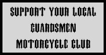 Patch with words Support Your Local Guardsmen International Law Enforcement Motorcycle Club
